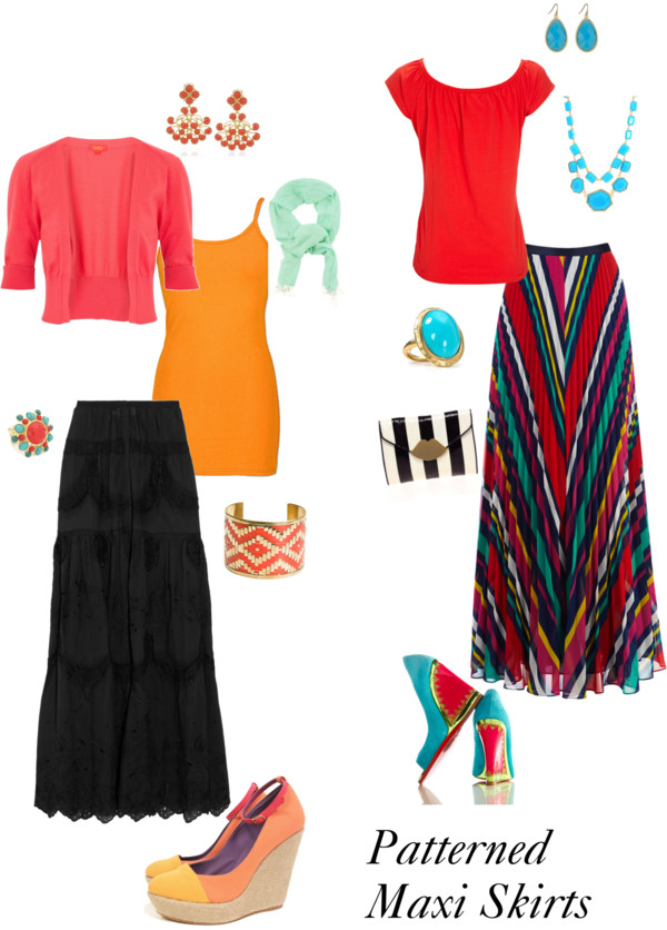 Patterned Maxi Skirts