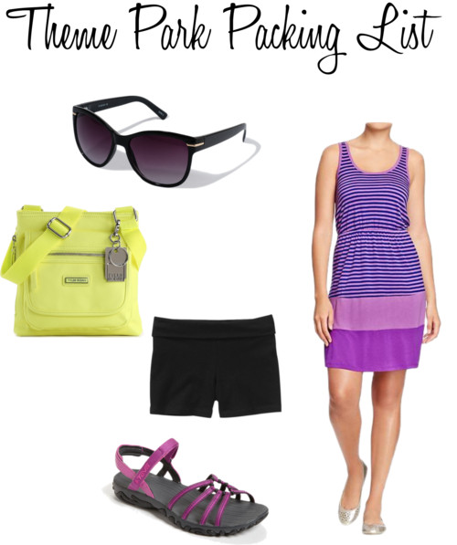 Theme Park Packing List