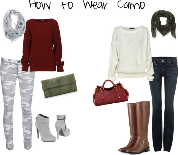 How to Wear Camo - Outfit 2 & 3