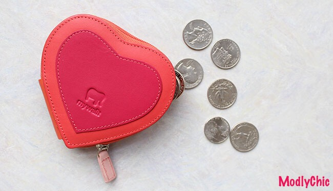 heart coin purse - mywalit