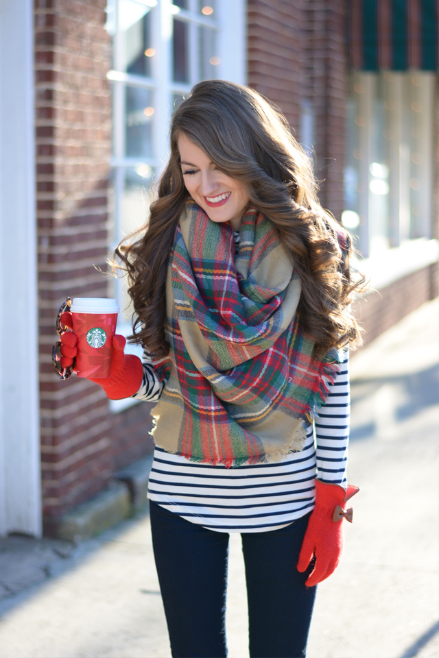 How To Wear a Blanket Scarf - ModlyChic