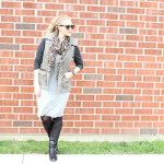 leopard-scarf-gray-sheath-dress1