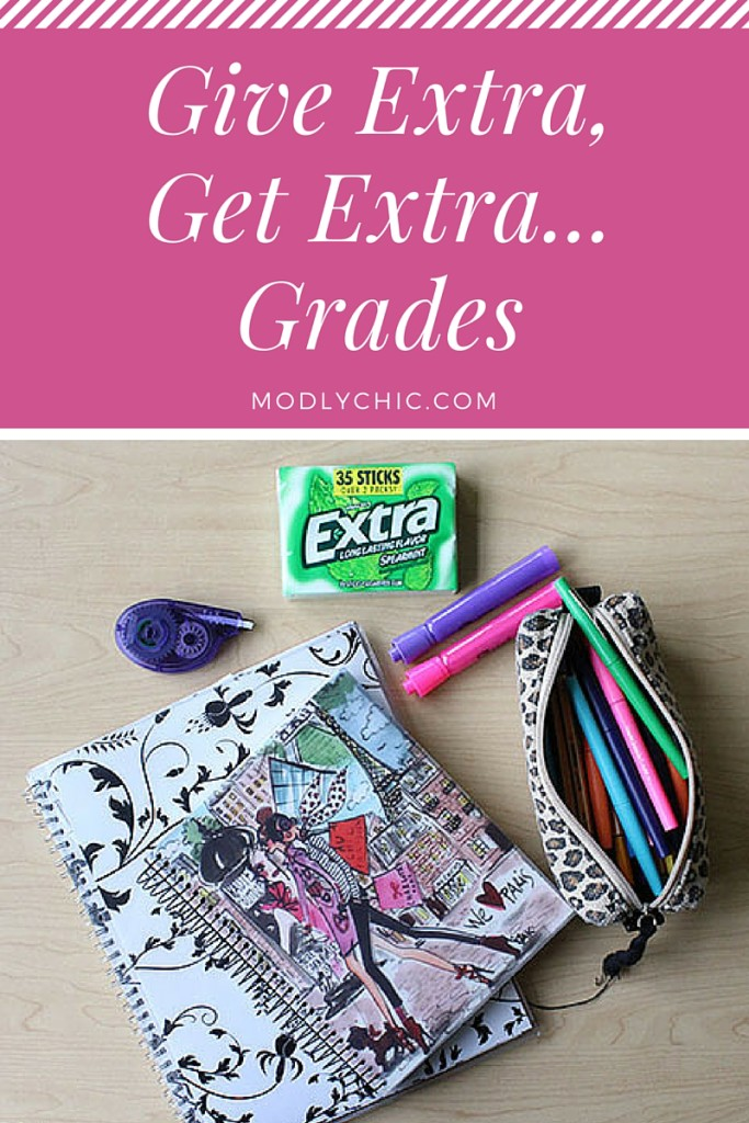 Give Extra, Get Extra... Grades