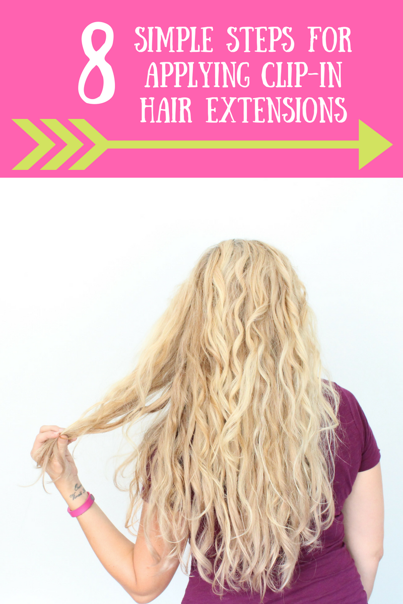 8 Simple Steps For Applying Hair Extensions Modlychic