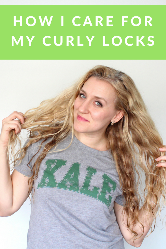 How I Care for My Curly Locks