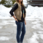 How To Wear a Fur Vest – 8 Styles to Try
